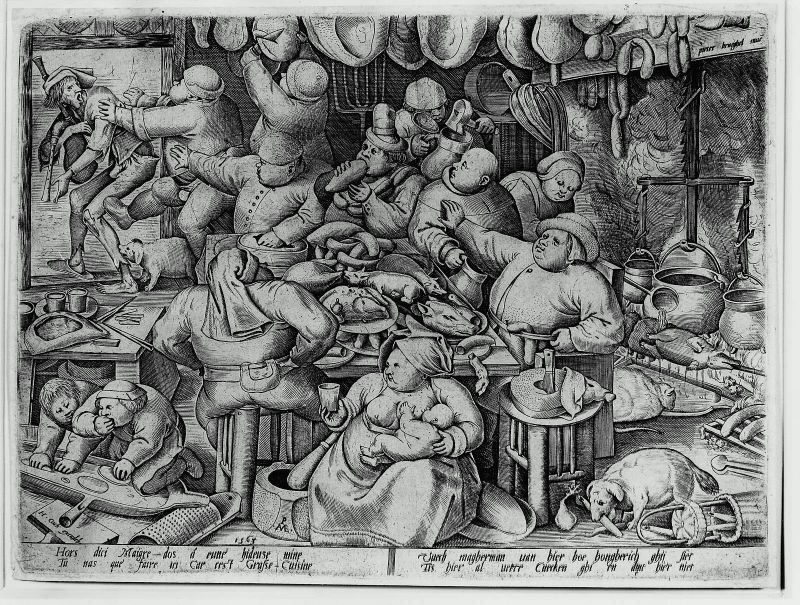 The Fat Kitchen Pieter Bruegel the Elder