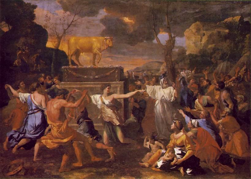 Um momento antes de Moisés chegar